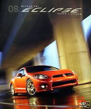 2008 Mitsubishi Eclipse coupe/Spyder sales brochure