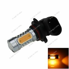 1X 5 COB LED 9006 Bulb Yellow Fog Light No-polar 7.5W Lamp HB4 P22d H308