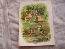 Matson Lines Menu July 4th 1969, Dinner S.S.Lurline Fiji