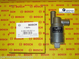 Volkswagen Idle Air Control Valve - BOSCH - 0280140551 - NEW OEM VW