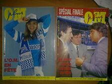 2 programme Marseille France - Red Star Belgrade 1991 European Cup Final RARE