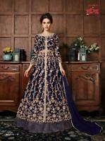 INDIAN WOMEN ANARKALI SALWAR KAMEEZ SUITS DESIGNER PAKISTANI PARTY WEDDING DRESS