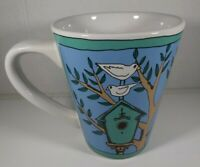 Ursula Dodge For the Birds Birdhouses Coffee Mug by Signature Housewares