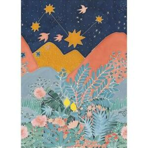 100617123 - Hygge Scandinavian Landscape Multicoloured Casadeco Wallpaper Mural