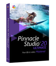 Corel Pinnacle Studio 20 Ultimate De Pnst20uldeeu D