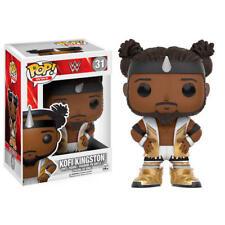 Figura Funko pop WWE Kofi Kingston (gpwh) Muñeco Cabezón original