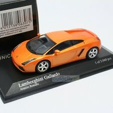 Lamborghini Gallardo 2004 Orange Metallic Die cast 1 43 Minichamps 400103500 R