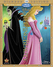 Sleeping Beauty (Blu-ray/DVD, 2014, 2-Disc Set, Diamond Edition) NO MAGIC CODE!