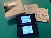 Nintendo DS Lite Handheld Console - Onyx Black Japan Region Free