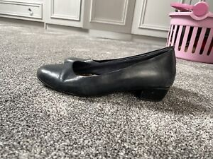 Used Cabin Crew Shoes Size 4 Blue