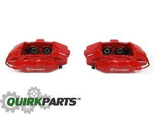 12-17 JEEP GRAND CHEROKEE SRT REAR LEFT & RIGHT BREMBO BRAKE CALIPER NEW MOPAR