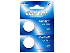 2 X CR2032 Eunicell Batteries For Weight Watchers Scales