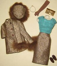 VINTAGE BARBIE REPRO/REPRODUCTION-#1647 GOLD'N GLAMOUR FASHION-MINT