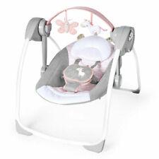 Ingenuity Comfort 2 Go Portable Swing Flora The Unicorn - Pink (12202)