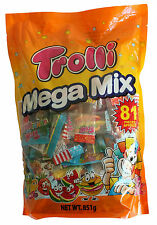 Trolli Mega Mix Gummy Lollies candy 851g Party Pack