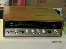 Super Clean Sansui AM/FM Stereo Receiver Model 5000A w/ Wood Case Working Well