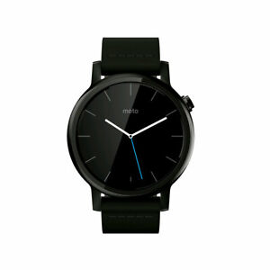 Motorola 2nd Gen Moto 360 42mm Men's Smartwatch (black Black Leather Band)