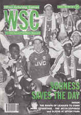 WHEN SATURDAY COMES Issue No.52 June 1991 Souness Saves The Day