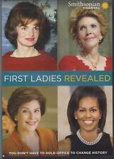 First Ladies Revealed (DVD, 2018, Smithsonian) Kennedy; Reagan; Bush; Obama VGC