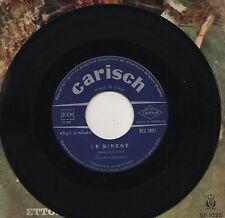 ORCHESTRA CERAGIOLI disco 45 giri JALOUSIE + LE SIRENE made in ITALY