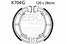 FIT KAWASAKI KL 250 A3/A4/C1/C2 80>84 EBC FRONT GROOVED BRAKE SHOES