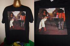 ZAPPA BEEFHEART MOTHERS- BONGO FURY 1975  ALBUM ART PRINT T SHIRT-BLACK- X LARGE