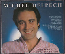 COFFRET 2 CD 34T MICHEL DELPECH WIGHT IS WIGHT BEST OF 1990 TBE