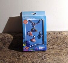Disney Finding Dory Interchangeable Charm Bracelet Set 4 Charms NEW