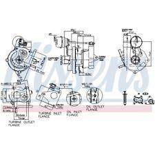 Nissens Turbolader Lader Aufladung Turbo 93073