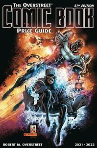 OVERSTREET 2021 2022 COMIC BOOK PRICE GUIDE 51 SOFTCOVER Static Hardware CVR SC