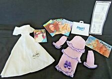 79-81 Kenner DARCI Fashion Doll LOVELY LAVENDER & WEDDING BELLE Outfits