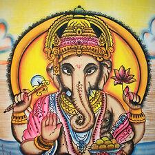 INDIEN Lord Ganesh tapisserie, hippy bohème, hippy Tenture murale Jeté de lit
