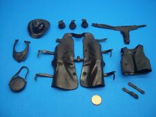 Marx (NEW BLACK COLOR ACCESSORY LOT) Johnny West Best Of The West Horse Garrett