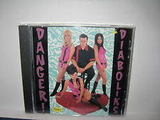 THE DIABOLIKS - danger:diaboliks CD ss USA GARAGE PUNK MOD power pop oop L@@K