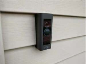 Ring Pro Doorbell Vinyl Siding Mount - Angle Adjustment Mount Wedge