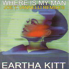 CD single Eartha KITT Where is my man Joe Vannelli CARD SLEEVE RARE