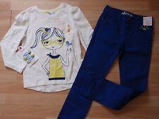 NUEVO CON ETIQUETA niña Gymboree Talla 8 Camisa, Azul Pantalones,