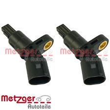 METZGER Radsensor ABS Sensor Raddrehzahl Induktivsensor Hinten 0900067
