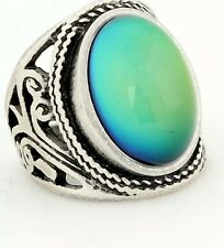 VINTAGE STYLE MOOD RING 70S BOHEMIA FREE COLOR CHART  ANTIQUE STYLE