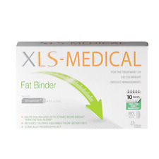XLS Medical Fat Binder Tablets New Diet/ Weight Loss - 60 Tablets