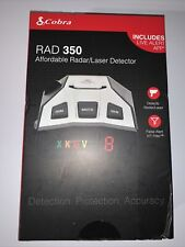 Cobra Rad 350 Radar Laser Detector Safety Detection Device New
