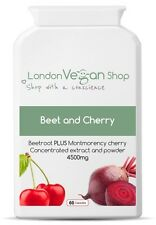 Beet N Cherry Vegan Supplement - Antioxident and Iron Supplement