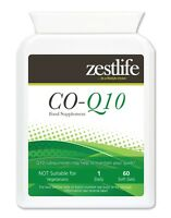 Zestlife CoEnzyme Q10 300mg 60 soft gels energy, liver, heart, muscle cells