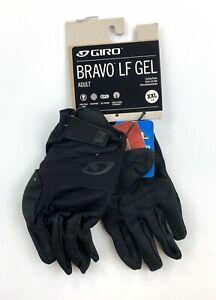Giro Bravo LF Gel Full Finger Cycling Gloves Men's 2XL Black New