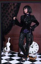 Rq-Bl steampunk gothic coat sz M