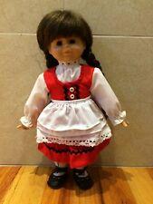 "Vintage Gustel Wied 1989 Gtc Eva Maria Reick Signed 13"" Doll Le 5000 ""Pauline"""