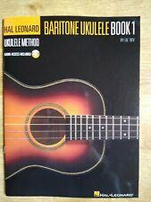 Baritone Ukulele Book 1 by Lil' Rev, Hal Leonard Ukulele Method.