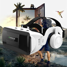 """3D VR Shinecon Glasses Headset Virtual Reality For iPhone 4.7""""-6.1"""" Smartphone"""