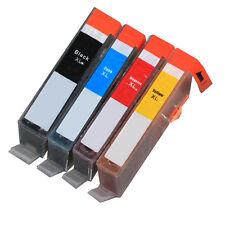 4 PK Ink Cartridge Bundle + chip 564XL for Photosmart 5510 5511 5512 5514 5520