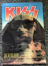 Vintage Kiss Tour Programme Hot In The Shade 1990-91